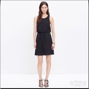 🎉Madewell eyelet open-back overlay dress size 4